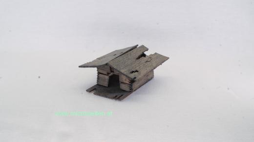 ruined hut N