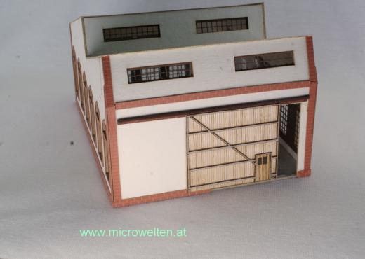Lagerhalle (Erweiterung) N