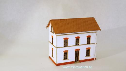 Arbeiterwohnhaus renoviert