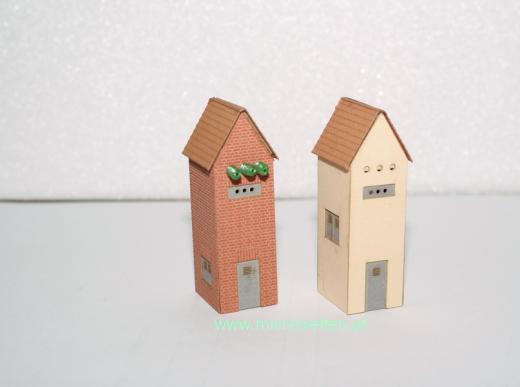 Ein Trafohaus Backstein
