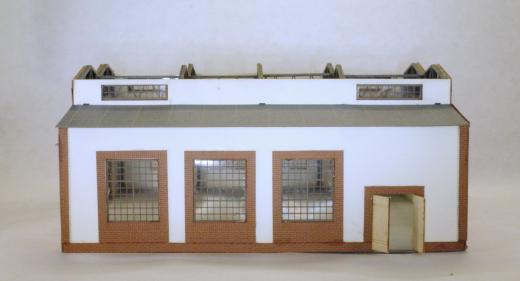 Hangar or big factory hall