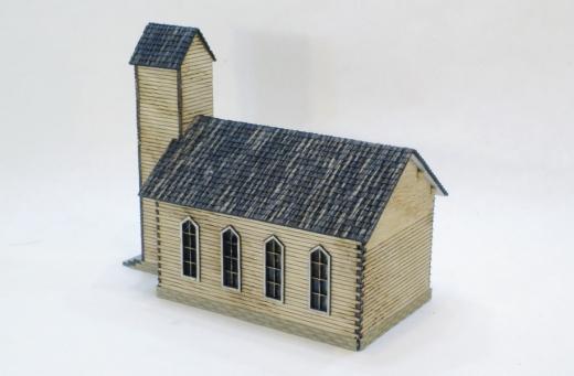 Der wilde Westen - Old Oak Chapel