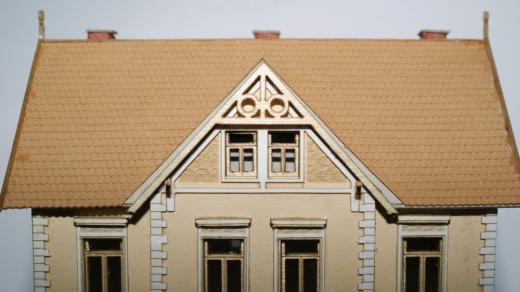 Eisenbahner Wohnhaus