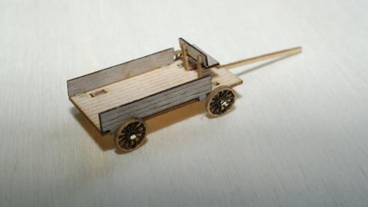 Der Wilde Westen - 2 Flachwagen