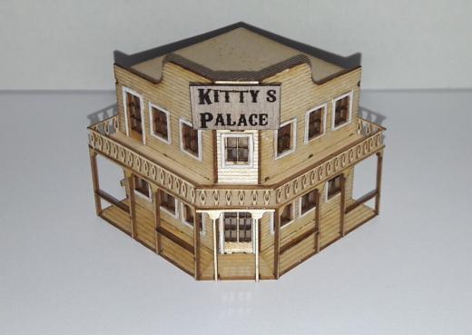 Der wilde Westen - Kittys Palace H0