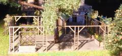 Garden with pergola H0